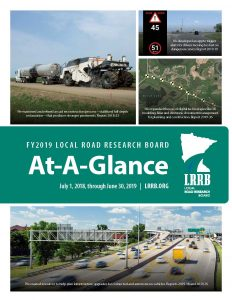 LRRB At-A-Glance Annual Report FY2019